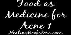 food as medicine for acne